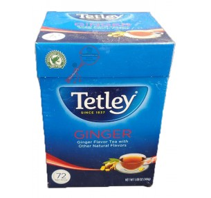 Tetley Tea, Ginger, 72-Count Tea Bags (தேயிலை)