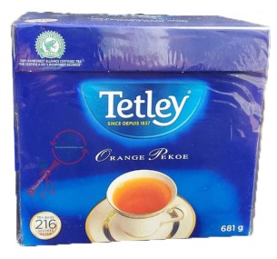 Tetley Tea, Orange Pekoe, 216-Count Tea Bags (தேயிலை)
